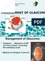 Management of Glaucoma