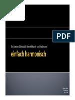 Einfach Harmonisch