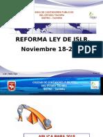 Reforma Ley Islr