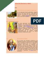 La Educacón en El Perú