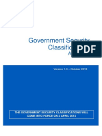Government Security Classifications April 2014