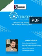 Definición Startup y Metodología Running Lean (1)