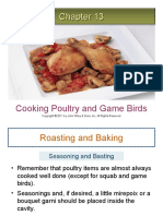 Cooking Poultry and Game Birds