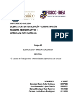 tarea sesion 4 Finanzas administrativas 1