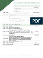 Itinerary February 24