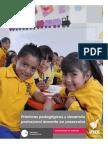 Prácticas Pedagógicas y Desarrollo Profesional Docente en Preescolar