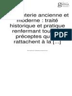 Charcuterie Ancienne Et Moderne - Traité Historique Et Pratique