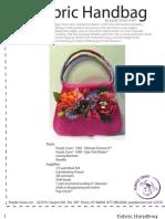 Floral Handbag Pattern by Paula Nelson-Hart