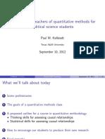 Kellstedt QMteachers Presentation