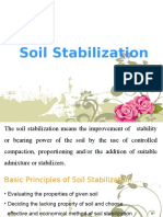 soil stabilisation and methods
