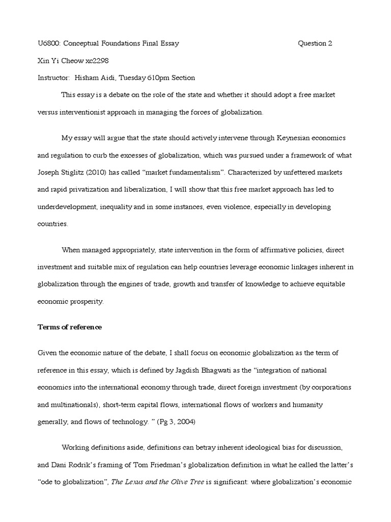 essay globalization essay about globalization health care essays  school essay on globalization globalization