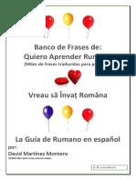 Banco de Frases Rumano-español 2016