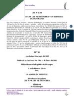 Ley 40 y 261 Ley de Municipios Con Sus Reformas