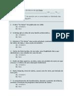 Ficha de Verificacao de Leitura Maias