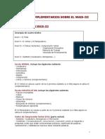 Apuntes Complementaraios Sobre El WAIS-III