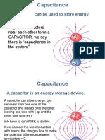 capacitance of capaciter Presentation