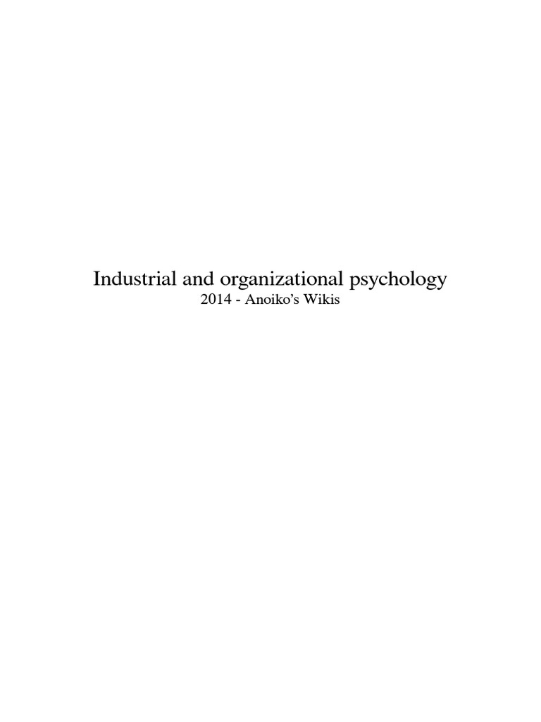 Industrial and organizational psychology industrial and industrial and organizational psychology industrial and organizational psychology applied psychology fandeluxe Choice Image