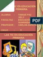 LAS TIC EN EDUCAIÓN PRIMARIA