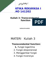 KULIAH 3-MATREK I-Transcendental Function