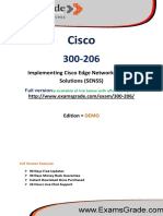 300-206 Updated Cisco Certification Exam
