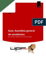 Guía Asamblea General de Estudiantes (UPRP)