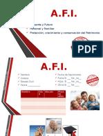 Afi en Blanco ANALISIS FINANCIERO