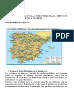 Temas 10,11 y 12. Sociedad Hispanorromana, Aspectos Econo_micos, Religio_ y Cultura
