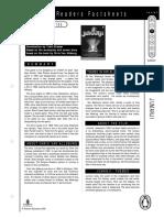 Jumanji Factsheet