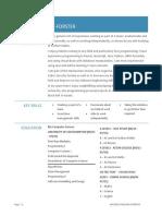 CV-MichaelPF-Software Engineer Internship