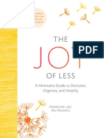 The Joy of Less (Updated and Revised) (Excerpt)