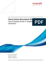 Experton Cloud Vendor Benchmark 2010 Inhaltsverzeichnis 120410