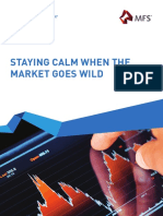 Staying Calm When the Market Goes Wild