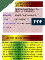 Las Tics en Educacion Primaria