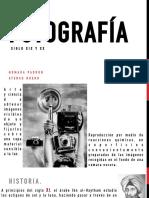 FOTOGRAFIA DEL SIGLO XIX Y XX