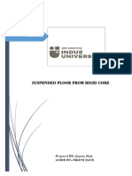 Case Study on Suspended Floor From Rigid Core