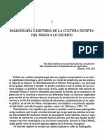 Paleografia Historia