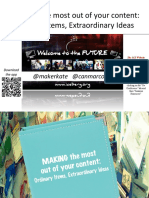 Attendee Resources- Making the Most Out of Your Content