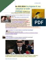 PO IV Ko 353.2016 Czy Kajetan P. ma szanse odzyskac w Lodzi Palac Poznanskiego PDO288 FO von Stefan Kosiewski ZR ZECh CANTO DCLXXXI 20160224 Magazyn Europejski SOWA