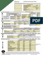 DrillPipe, 80%, 5.000 OD, 0.362 wall, IEU, X-95.. XT50 (6.625 X 3.938 )