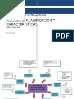 Clasificacion y Caracteristicas de Acciones