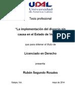 Tesis Divorcio PDF