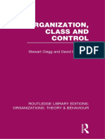 Organization Class and Control Sample