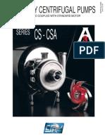 CS-CSA Centrifugal Pumps