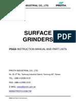 Proth Psgs Manual