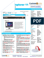 Ie 11 Cheat Sheet