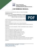 Guia de Remessa Manual