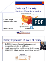 Can Public Policy Mitigate the Obesity Crisis?