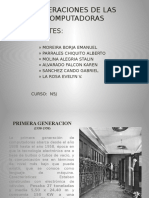 Generaciones de Las Pc Diapositivas