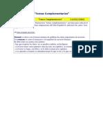 Spanish - Espanhol - Aula - 54 - Temas Complementarios