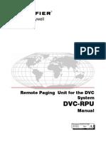 DVC-RPU